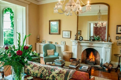 Coolclogher Gold Sitting Room