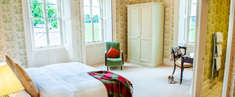 Coolclogher House Green bedroom