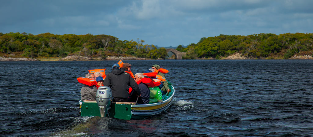Muckross Dinis boat trip