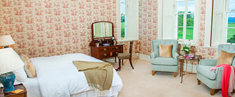 Coolclogher House Rose bedroom
