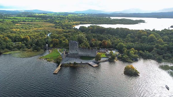 Ross Castle and Ross Island