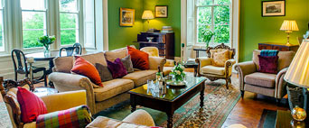 Coolclogher House green sitting room