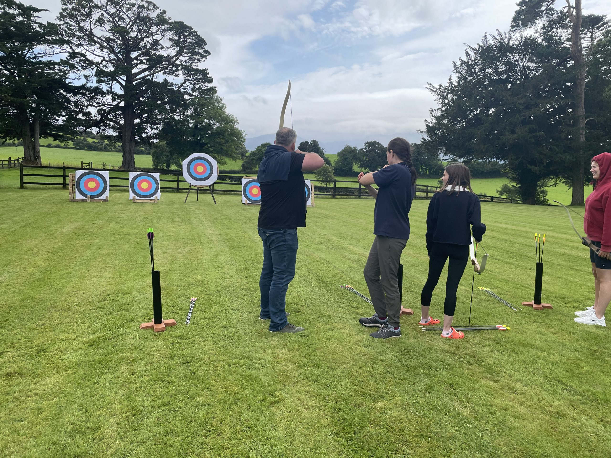 Archery at Coolclogher House