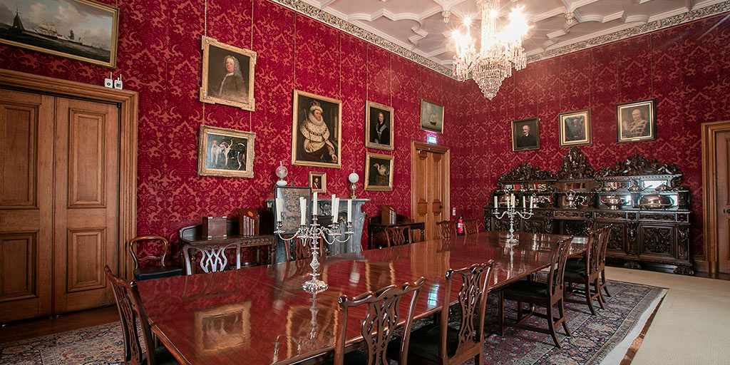 The dining room at Muckross House
