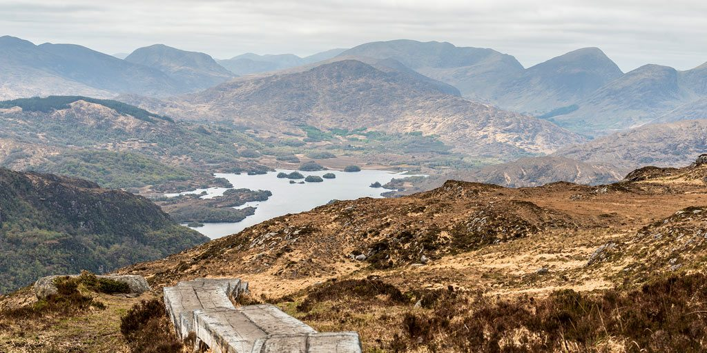 View from Torc mountain Killarney